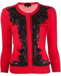 L'Wren Scott Knit Cardigan - Lyst