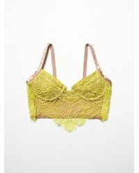 Free People Bat Your Eyelash Bra - Lyst