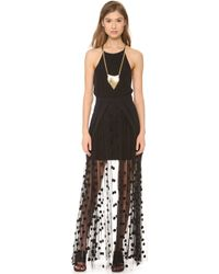Sass & Bide - House Proud Maxi Skirt - French Navy - Lyst