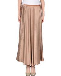 Mes Demoiselles Long Skirt - Lyst