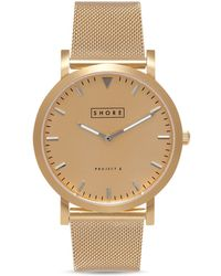 Shore Projects - Abersoch Mesh Strap Watch, 39mm - Lyst