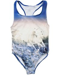 Stella McCartney Marcie Unicorn Swimwear - Lyst