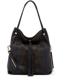 Ella Moss - Leather Chandelier Hobo Bag - Lyst