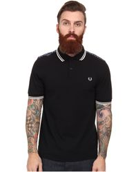 Fred Perry Drakes Paisley Trim Shirt - Lyst