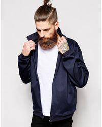 American Apparel Lightweight Jacket blue - Lyst