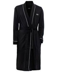 Boss Black Kimono Bathrobe - Lyst