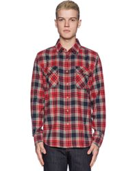 Obey Floyd Button Down - Lyst