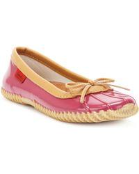 Chooka - Solid Duck Skimmer Rain Shoes - Lyst