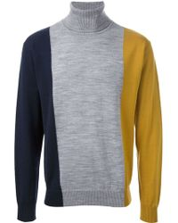 Henrik Vibskov Flaf Colour Block Sweater - Lyst