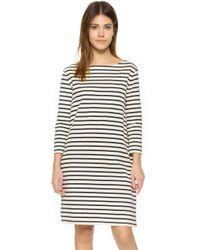 Petit Bateau - Hannah Striped Sailor Dress - Lyst