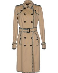 Burberry Prorsum Full-Length Jacket beige - Lyst