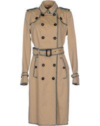 Burberry Prorsum Full-Length Jacket beige - Lyst