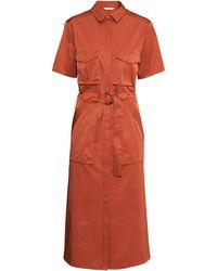 H&M Long Shirt Dress - Lyst
