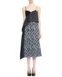 Maiyet Handwoven Draped Front Dress - Lyst