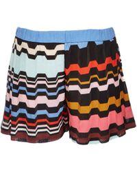 Missoni Greek Key Shorts - Lyst