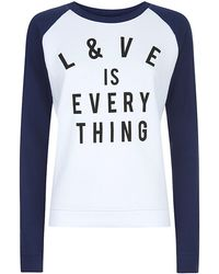 Zoe Karssen Love Is Everything Sweater - Lyst