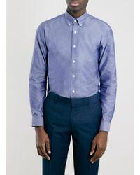 Topman Selected Homme Oak Shirt - Lyst