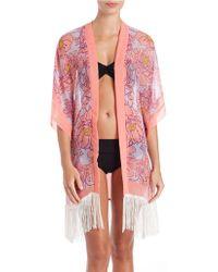 Theodora & Callum - Condesa Kimono Cover-up - Lyst