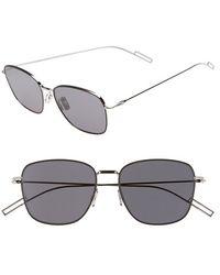 Dior 'Composit 1.1S' 54Mm Metal Sunglasses black - Lyst