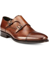To Boot Grant Double-Buckle Monk Strap Shoes - Lyst