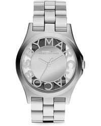 Marc By Marc Jacobs Stainless Steel Mirror Watch - Lyst