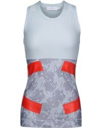 Stella McCartney Techfit Tank blue - Lyst