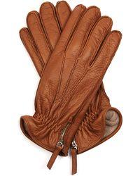 Want Les Essentiels De La Vie - Chopin Side-Zip Leather Gloves - Lyst