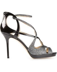 Jimmy Choo Vermeil Sandals - Lyst