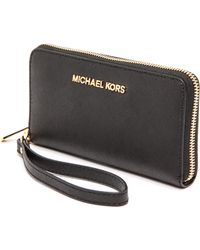 Michael by Michael Kors Jet Set Travel Phone Case  Luggage - Lyst