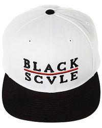 Black Scale - The Red Line Snapback Hat - Lyst b701b9b410b6