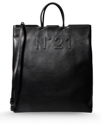N° 21 Large Leather Bag - Lyst