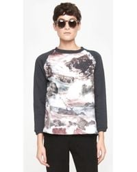 Carven M Seascape Sweatshirt - Lyst