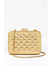 French Connection Tabbie Box Clutch - Lyst