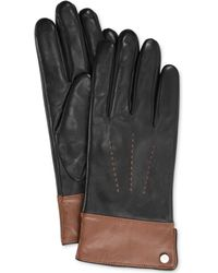 Lauren by Ralph Lauren Two Tone Thinsulate Glove - Lyst