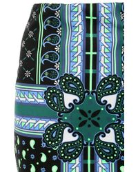 Emma Cook - Paisley Print Techno Jersey Pencil Skirt - Lyst