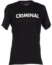 Criminal - T-shirt - Lyst