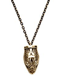 Pamela Love Small Serpentine Pendant - Lyst