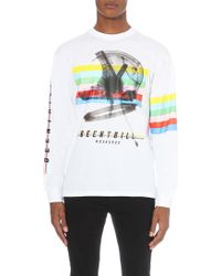 Been Trill - Multi-striped Helmet Cotton-jersey Top - Lyst
