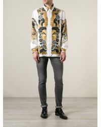 Versace Indian Western Shirt - Lyst