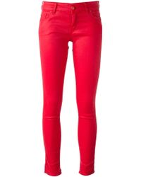 Love Moschino Skinny Fit Jeans - Lyst