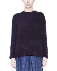 10 Crosby Derek Lam Crew Neck Tunic Sweater - Lyst