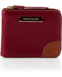 BOSS Orange - Leather Wallet Riley - Lyst