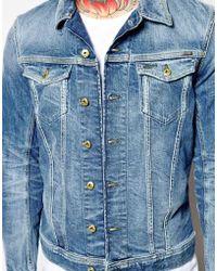 Diesel Blue Jacket Jinka - Lyst