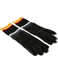 Raf Simons Sterling Ruby Mens Narrow Leather Gloves - Lyst