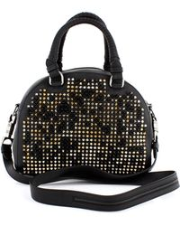 Christian Louboutin Black Gold and Silver Spikes Panettone - Lyst