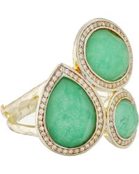 Ippolita - Silver And Chrysoprase Ring - Lyst