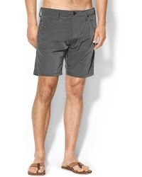 Diesel Black Kroobeach Short - Lyst