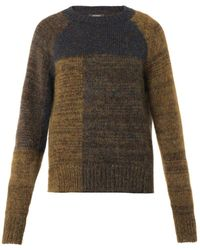 Isabel Marant Naoko Patch Sweater multicolor - Lyst