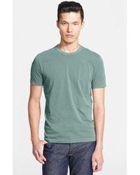 James Perse Crewneck Jersey T-Shirt - Lyst