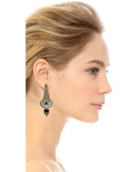 Samantha Wills - Sunday In The Chateau Earrings - Silver/black - Lyst